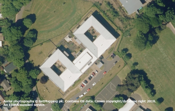 Using Aerial Imagery - quick ideas: school grounds